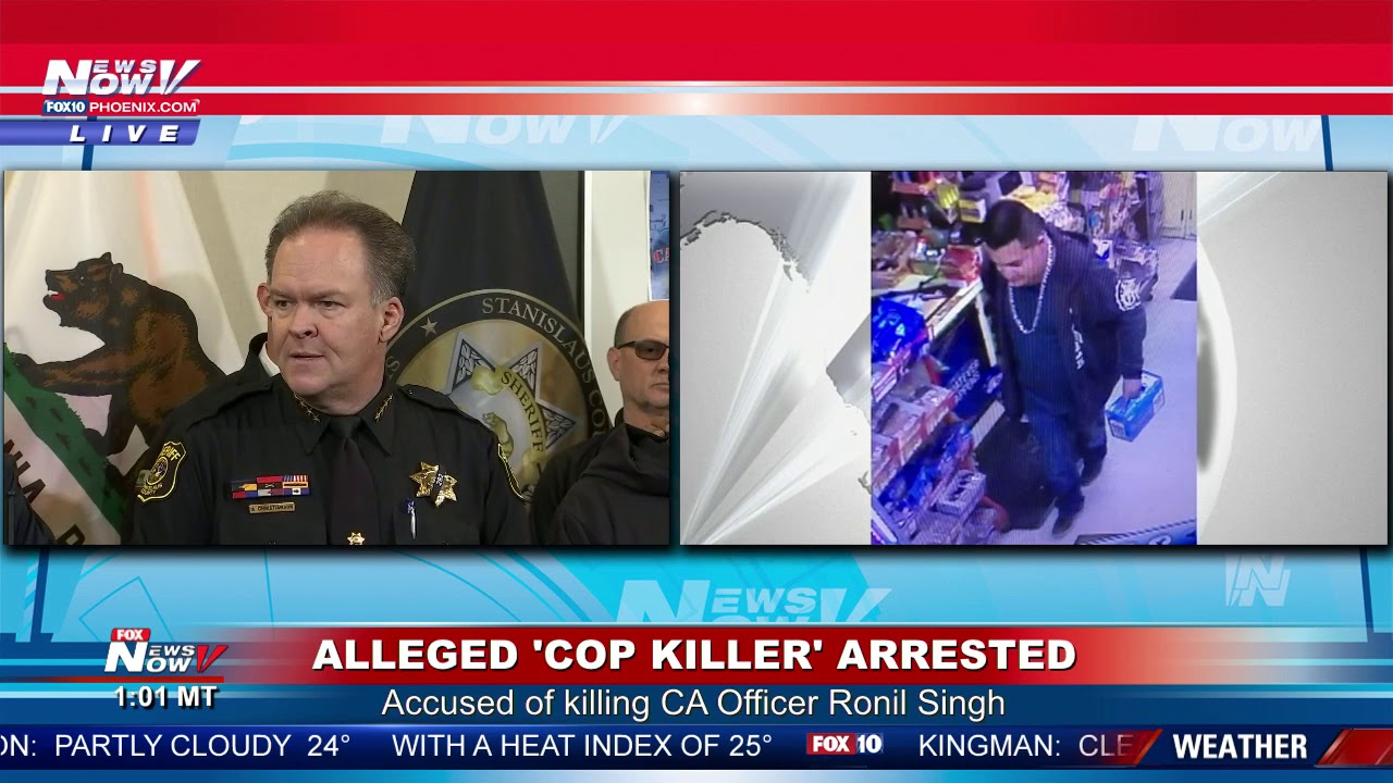 ARREST MADE: Alleged 'cop killer' Gustavo Perez Arriaga caught in  Bakersfield (FNN)