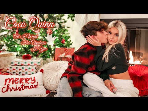 Mariah Carey - All I Want For Christmas Is You (Cover by Coco Quinn ft. Gavin Magnus)