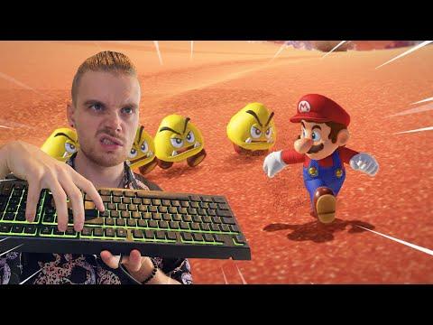 UNTER 2H MIT TASTATUR?! (Challenge)   Mario Odyssey