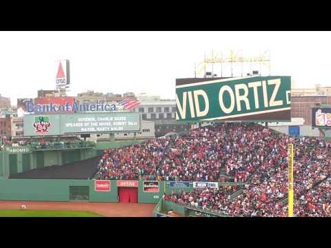 David Ortiz Ceremony 2016: Big Papi Farewell At Fenway Park