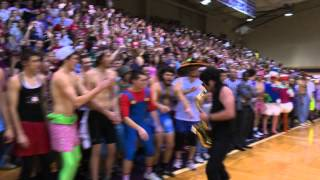 Repeat youtube video Taylor University Silent Night Game 2012