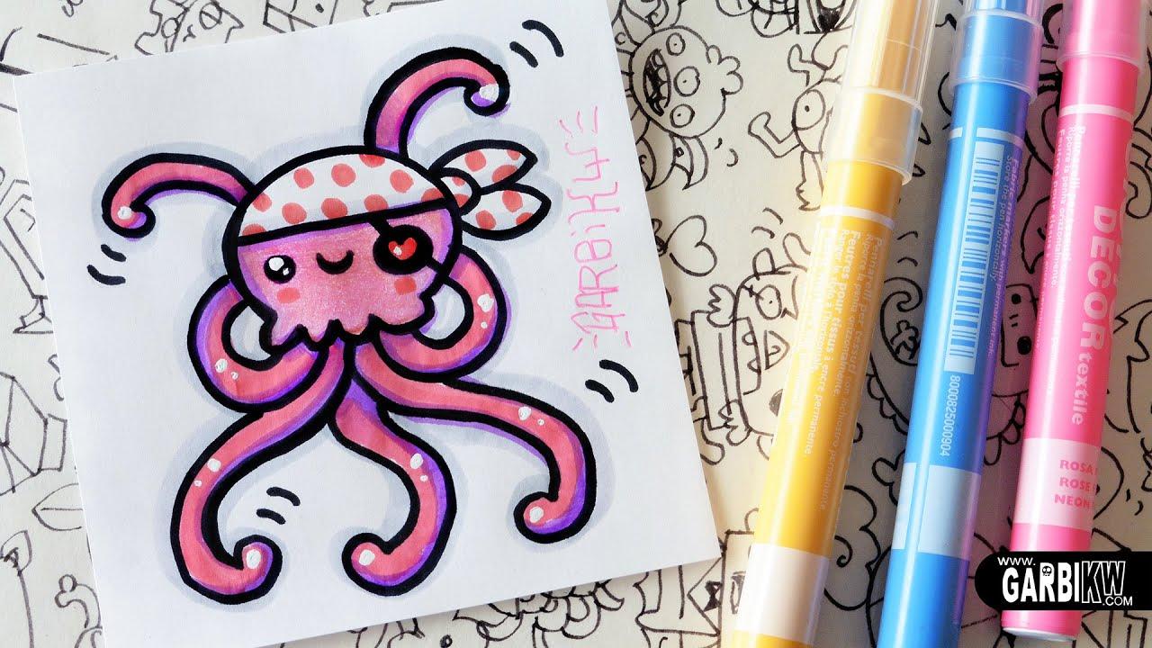 Cute Easy Draw Jellyfish