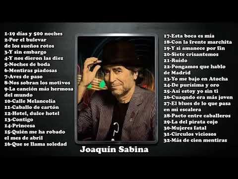 Joaquín Sabina-32 mejores canciones.