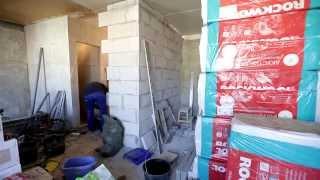 Ремонт. День 28. Строительство. Стенка шкафа, пол туалета.(, 2014-04-10T17:26:47.000Z)