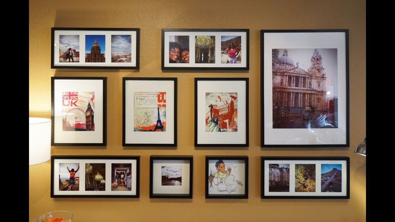 how to make a gallery wall ikea home tour tips tricks
