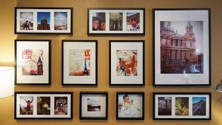 كيفية جعل معرض الجدار ايكيا جولة المنزل نصائح والخدع