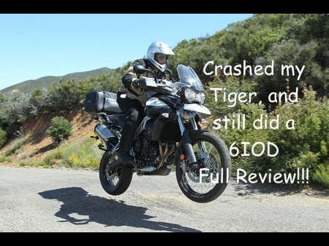 Tiger 800 XC Full Review, after a 6IOD tumble and rib break!