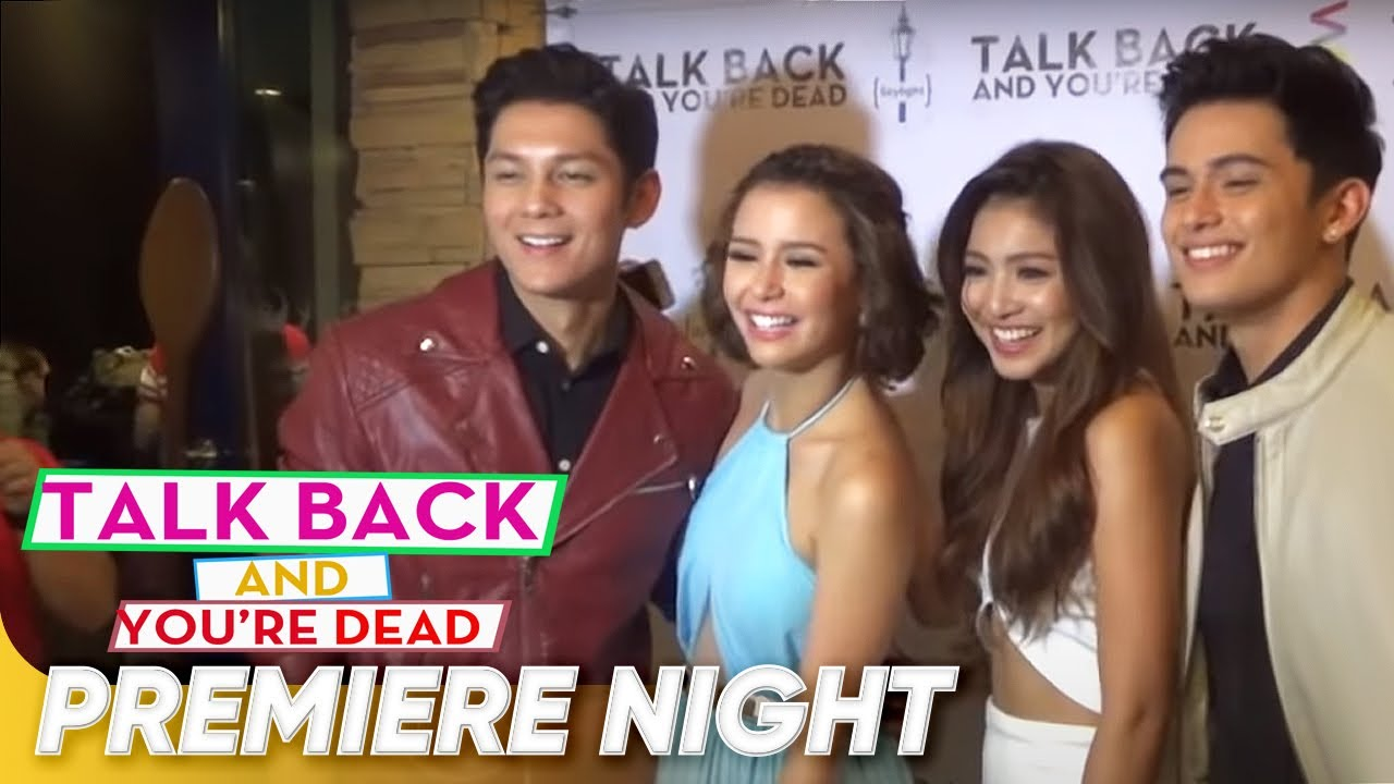 Talk Back And You Re Dead Premiere Night Talk Back And You Re Dead Youtube