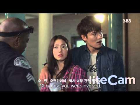 The Heirs - Lee Min Ho Park shin hye moments EP1