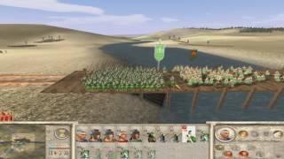 1000 РИМЛЯН ПРОТИВ 3000 ВАРВАРОВ. ХИТРАЯ ТАКТИКА ПОБЕДЫ Rome: Total War