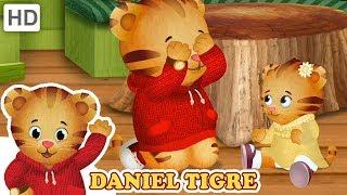 Daniel Tigre em Português 💝 Eu Amo minha Família e Amigos! | Vídeos para Crianças