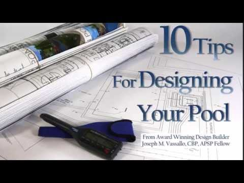 10 Tips for Designing Your Pool - YouTube