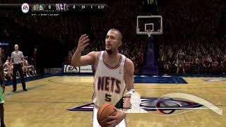 NBA LIVE 08 - NJ NETS VS BOS CELTICS [PS3] [HD]