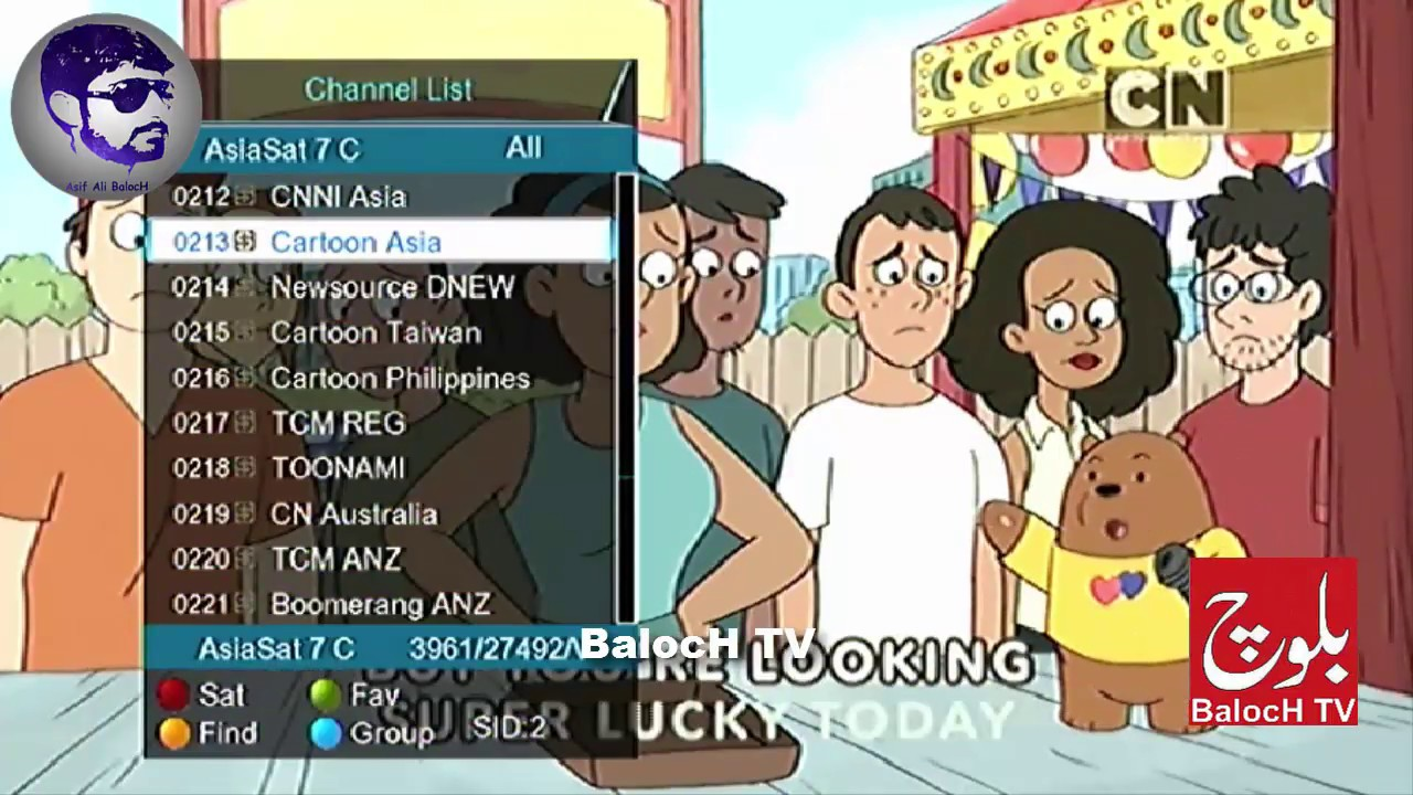 Cartoon network frequency asiasat