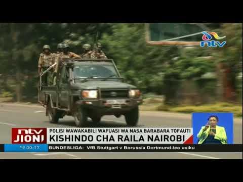 Kishindo cha Raila Odinga mjini Nairobi