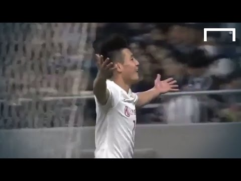 Wu Lei finishes off amazing team goal