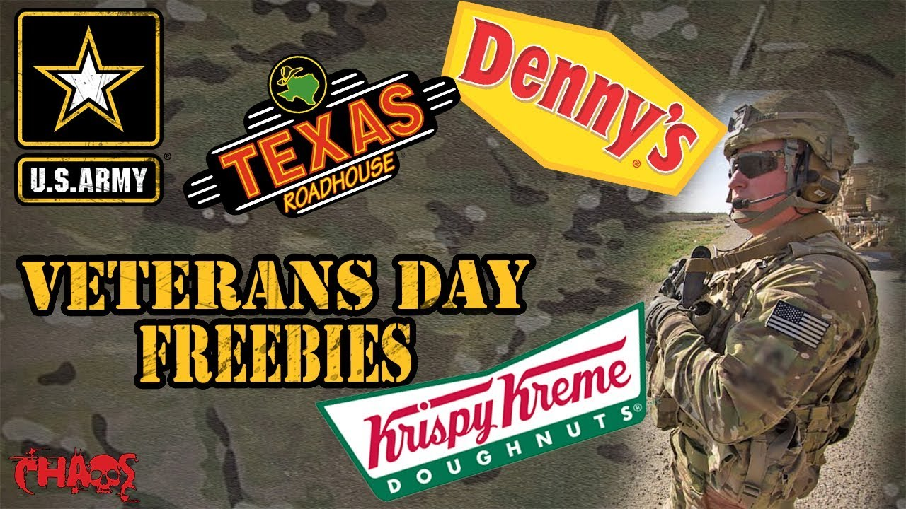 All the best freebies, deals for Veterans Day 2019