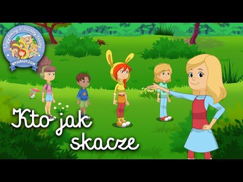 KTO JAK SKACZE – Wygibasy z naszej klasy - piosenka dla dzieci, dziecięce hity!