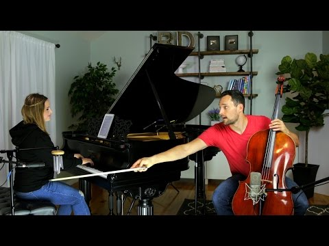 Coldplay - Hymn For The Weekend (Cello + Piano Cover) - Brooklyn Duo