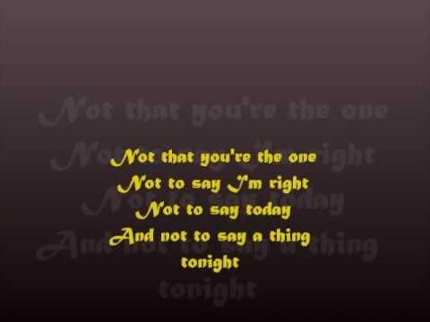 Unsaid-The Fray(lyrics)
