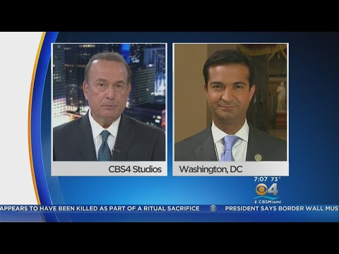 Rep. Carlos Curbelo Discusses Latest Developments On DACA With CBS4's Eliott Rodriguez