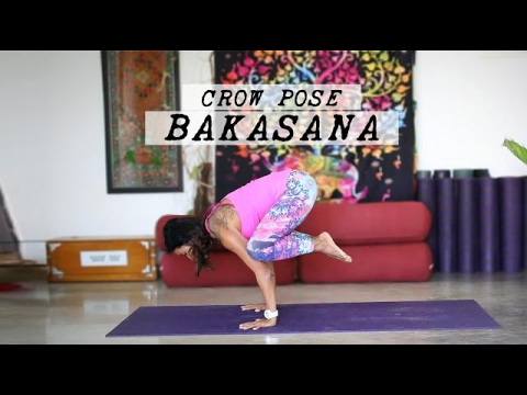 how to do bakasana  crow pose  youtube