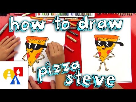 how-to-draw-pizza-steve