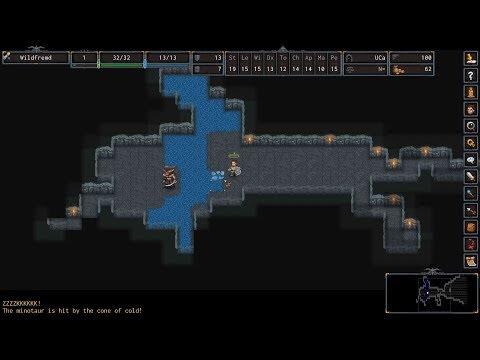 ADOM (Ancient Domains of Mystery) angespielt: Ein Spiel für die einsame Insel (Gameplay Deutsch)
