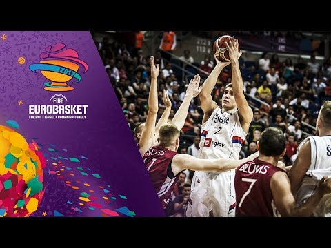 Serbia v Latvia - Full Game - FIBA EuroBasket 2017