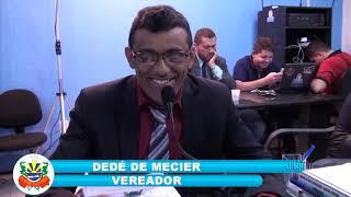 SESSÃO CÂMARA DE QUIXERÉ 11 10 2018