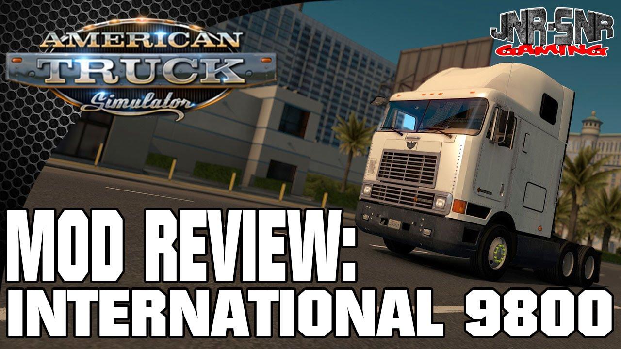 International 9800 Beta American Truck Simulator Mod