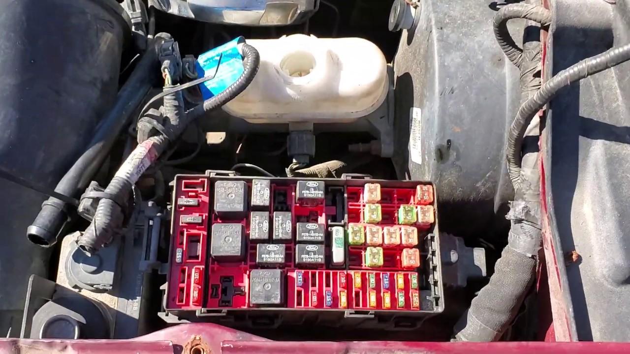 2000 Ford Expedition Fuel Pump Relay  Fuel Pump Fuse Location