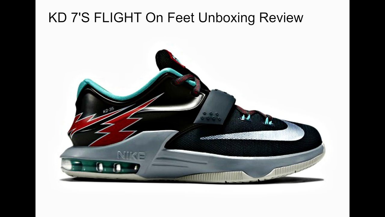 innovative design 64d78 a260b KD 7 s Flight s Unboxing, On feet review