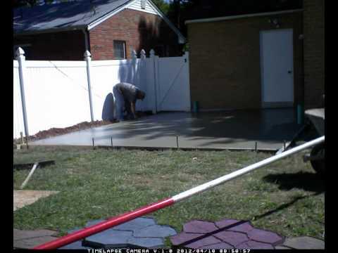 Spiegel Brothers LLC - Stamped Concrete Patio - St. Louis Hills