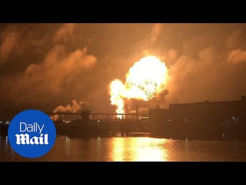 Fire sets off series of explosions at Philadelphia refinery
