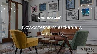 Krakowska kamienica w nowoczesnym wydaniu #projektwnętrz