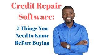 видео Best Credit Repair Software