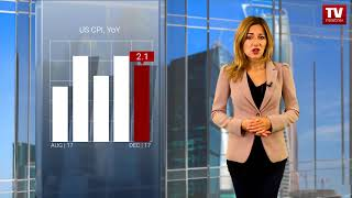 InstaForex tv news: US inflation data to determine stock indices   (12.02.2018)