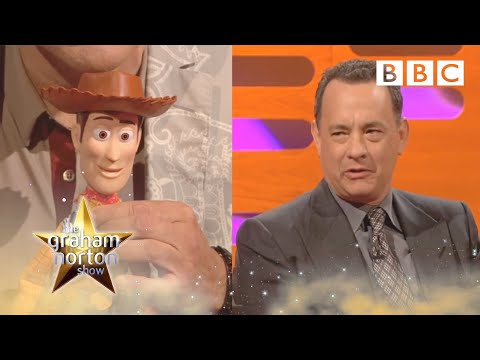 Is the Woody doll's voice really Tom Hanks?  The Graham Norton   Series 9 Episode 9  BBC One