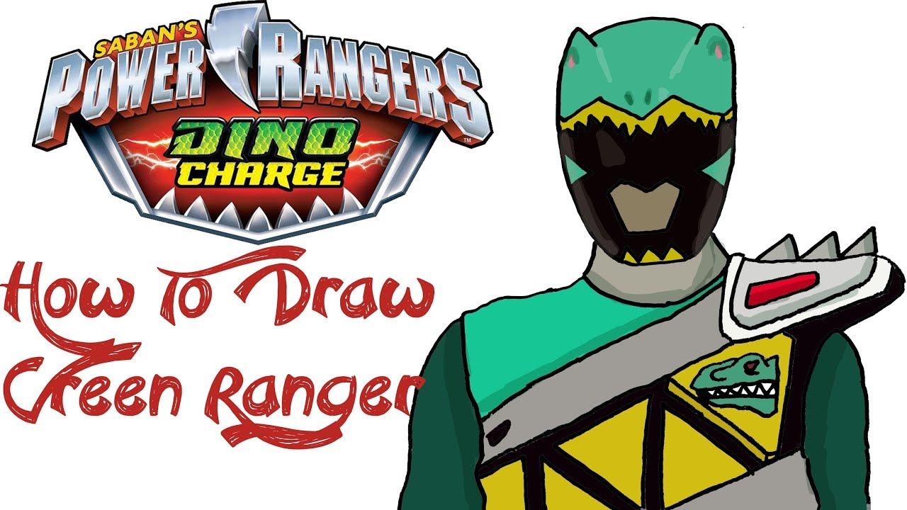 - How To Draw Green Ranger (POWER RANGERS) - YouTube