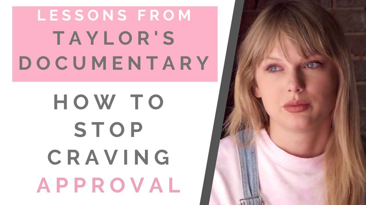 REACTION: TAYLOR SWIFT MISS AMERICANA: How To Be Confident & Stop Needing Approval | Shallon Lester