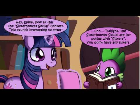 Sisterhooves Social Twilight Sparkle MLP Comic Dub (Comedy)