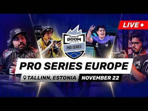 Pro Series Europe – Guns Of Boom