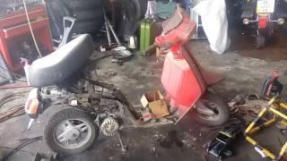 Yamaha Salient ремонт