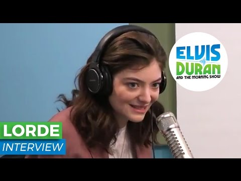 "Lorde Chats About Her New Album, ""Melodrama"" 