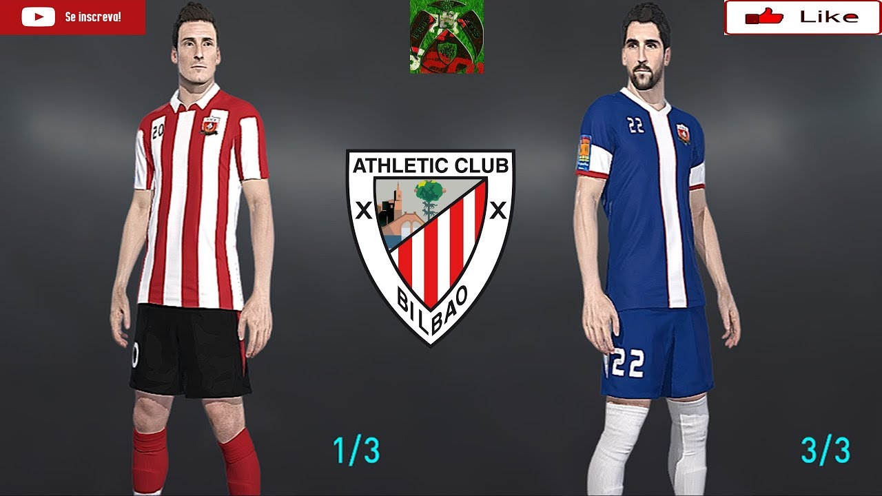 d814c29652b9b ATHLETIC BILBAO KITS PES 2018 XBOX ONE - YouTube