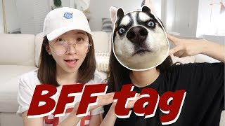 BFF TAG | 跟我们一起画面膜 Ft. Christy(包包大抽查)