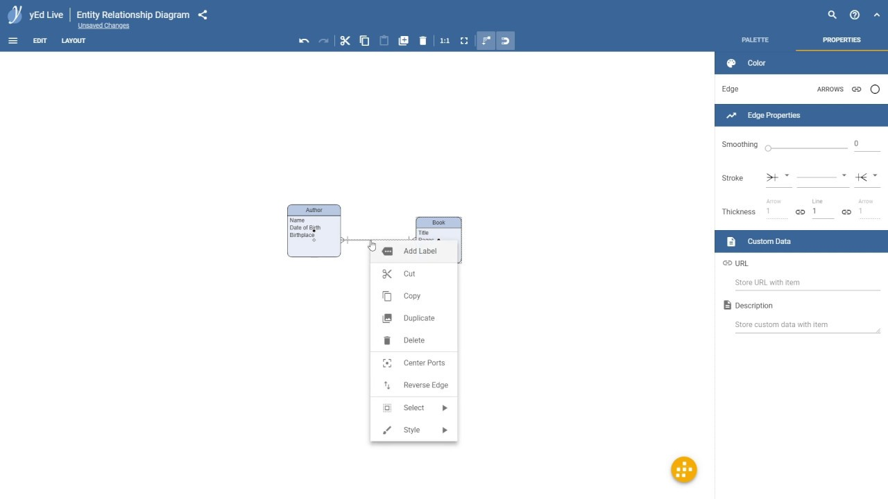 yEd Live - Diagramming in the Browser