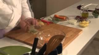 Как готовить мясо по-французски.  Видео рецепт.(, 2014-11-19T08:25:12.000Z)