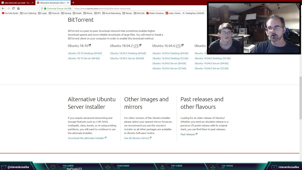 Plex Media Server Setup with Tautulli - Live Stream